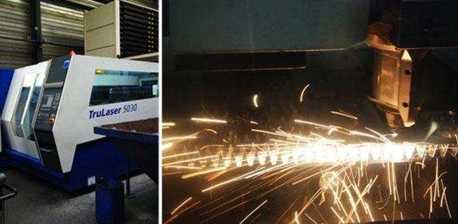 Chaudronnerie et découpe laser au Chambon Feugerolles